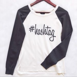 Rue21 Hashtag Sweater